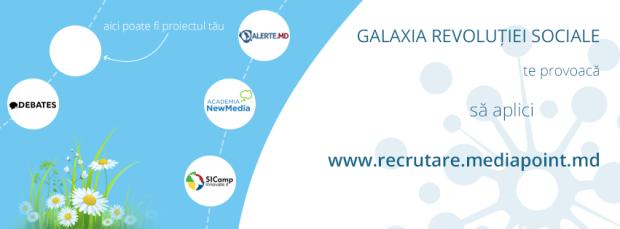 MediaPoint recrutează noi membri în organizație