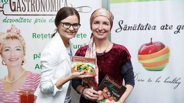 """(foto) Sfaturi profesionale cu referință la alimentația vegetariană și raw-vegană de la """"Sănătatea are Gust"""""""