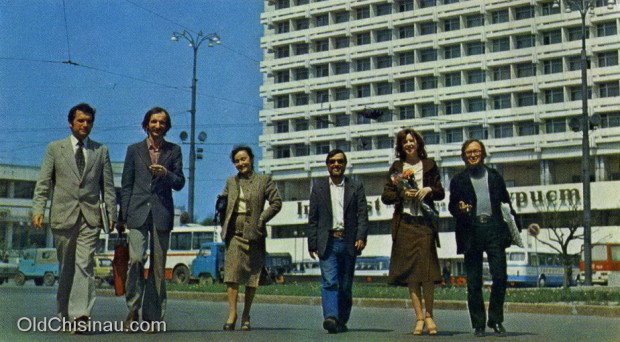 (video) Chișinăul anilor '70 văzut prin prisma unui film sovietic
