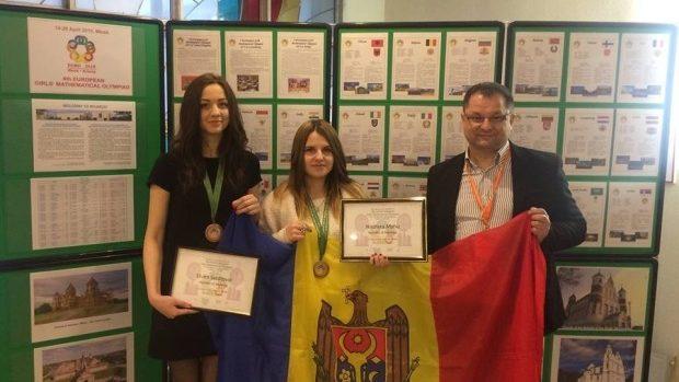 Moldova a obținut două medalii la Olimpiada europeană de matematică pentru fete