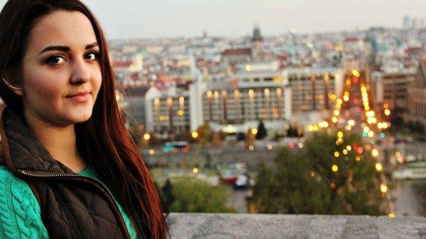"""Elena Livadaru: """"Praga niciodată nu doarme – tramvaiul și autobuzele lucrează 24/7"""""""