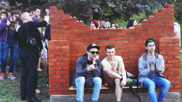 """(foto, video) """"Misterul Dorințelor"""" – noua construcție urbană a fost inaugurată într-un parc al Chișinăului"""