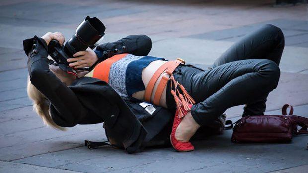 (foto) De ce este în stare un fotograf pentru o imagine reușită