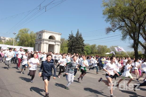 Primul maraton internațional la Chișinău