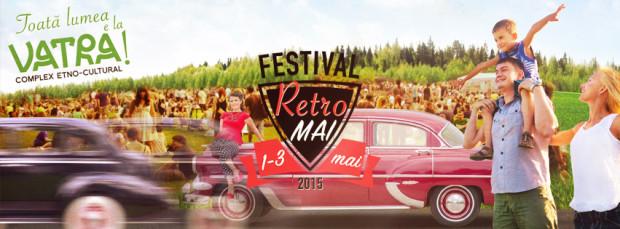"""Simte atmosfera retro și strălucirea timpului de odinioară la Festivalul """"Retro Mai"""""""