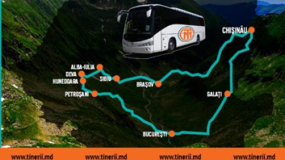 50 de tineri moldoveni au ocazia să facă un Tur al României