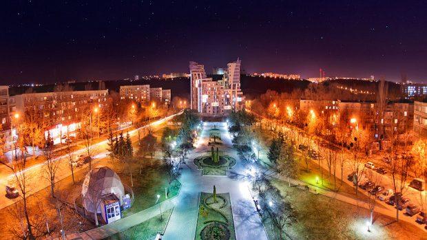 (foto) Imagini superbe: Un astfel de Chișinău de noapte va fi pe placul tuturor