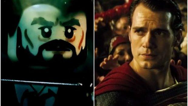(video) Batman și Superman țin lumea în suspans atât în trailerul Warner, cât și cel Lego