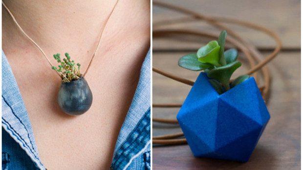 (foto) Accesorii din plante vii: Poartă natura cu tine