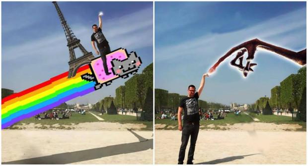 (foto) Ce se întâmplă atunci când rogi prietenii să-ți editeze fotografiile
