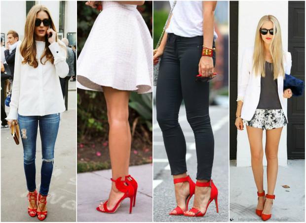 Pantofi roșii