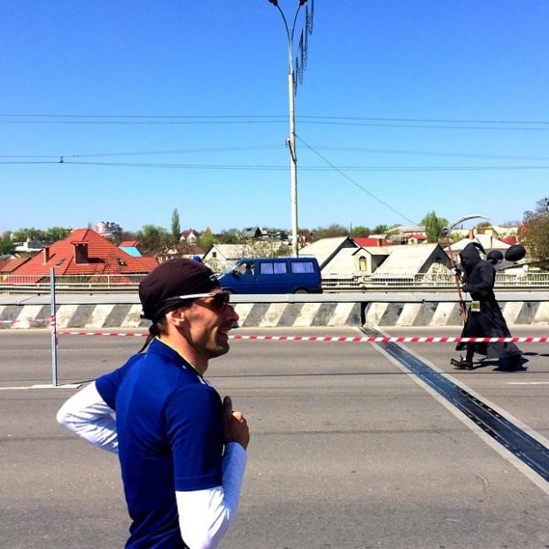 Dji la Maratonul din Chișinău PC: Instagram/ aaaleksandrovna