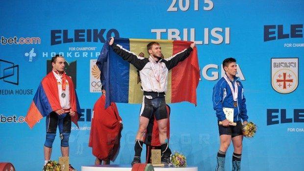 Moldova a cucerit 9 medalii de aur, argint şi bronz la Campionatul European de haltere