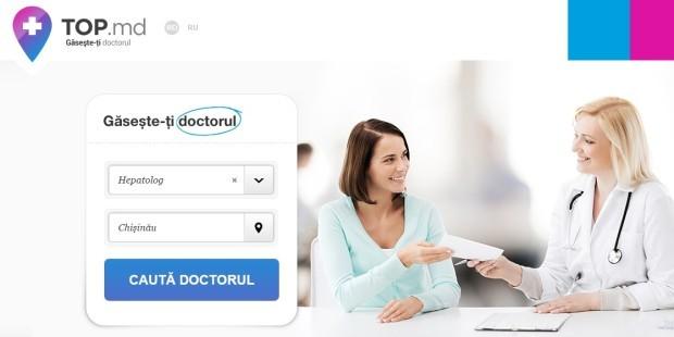 Top.md – platforma care îți găsește online orice medic de care ai nevoie