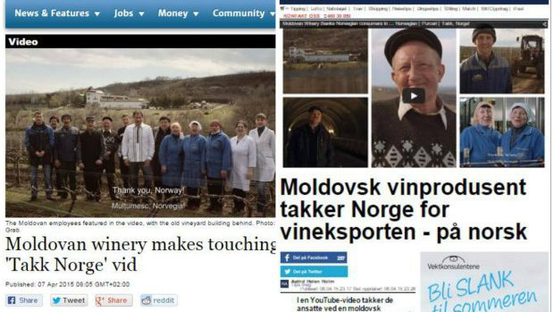 "Reacția norvegienilor la spotul Purcari: ""Tussen Takk, Norvegia!"""