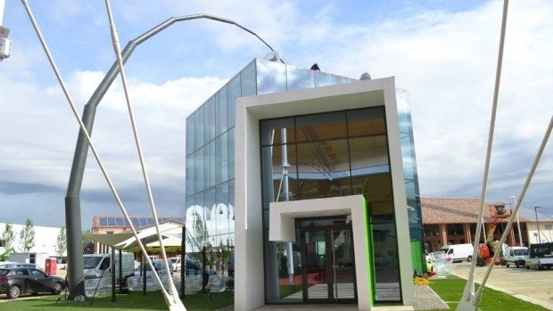 (foto) Cum arată pavilionul Moldovei de la Expo Milano cu o zi înainte de deschidere