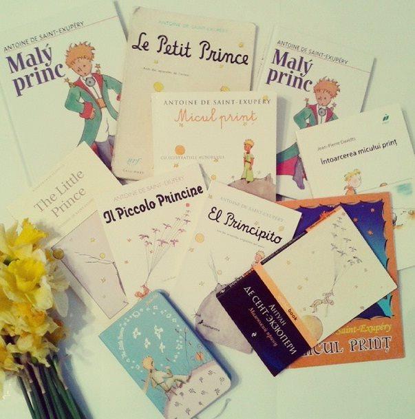 """Colecția """"Micul prinț"""" PC: Arhiva personală a Tanyei Babii"""