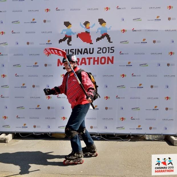 Un skater PC: Chisinau Marathon