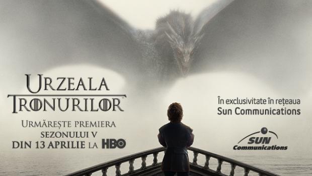 """""""Game of Thrones"""" se reîntoarce în Moldova cu premiera sezonului 5"""