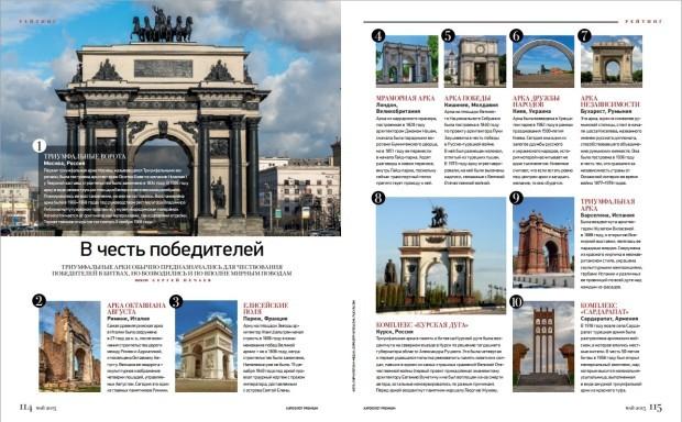 PC. revista Aeroflot Premium