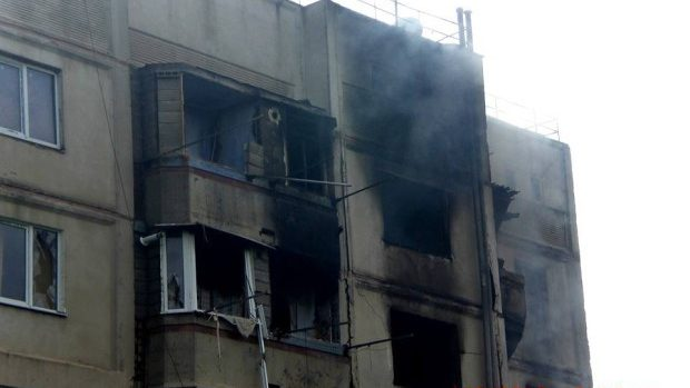 Deflagraţie într-un bloc locativ din Cantemir. Doi tineri au avut de suferit