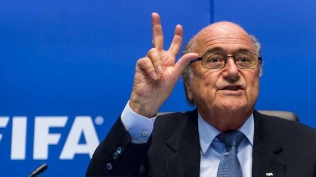 Joseph S. Blatter a fost reales în postul de președinte al FIFA
