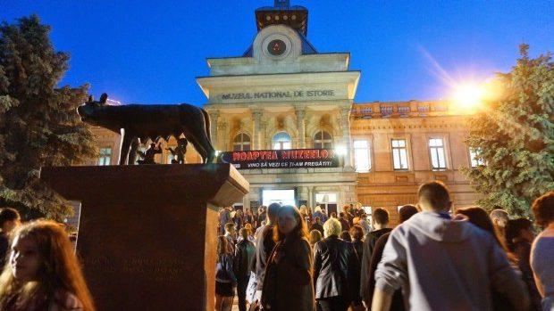Primul video mapping creat în Moldova va fi proiectat pe fațada Muzeului Național de Istorie