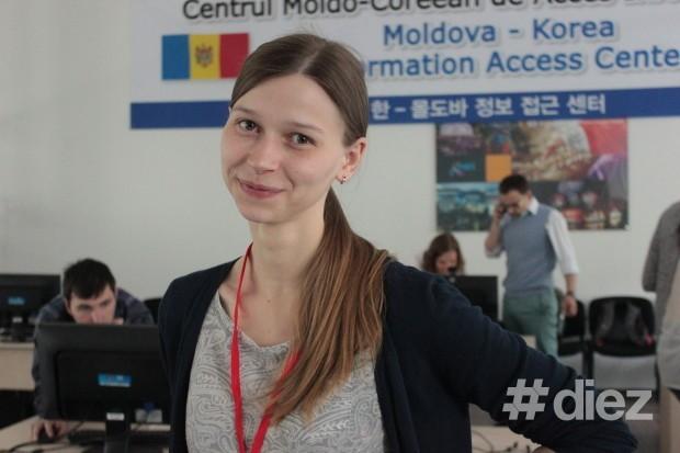 Natalia Ursu, participantă