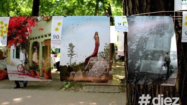 """(foto) """"Foto la Uscat"""" – 250 de lucrări au colorat Aleea Clasicilor"""