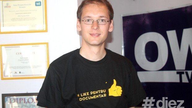 """(foto, video) Falk Müller – tânărul regizor german participă la CRONOGRAF cu filmul """"Nadeshda"""""""