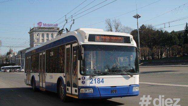 Numărul troleibuzelor noi pe străzile Chișinăului va fi majorat