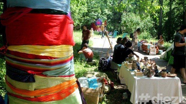 (foto) Iarba Urbană a creat un nou spațiu cultural la Casa Naționalităților