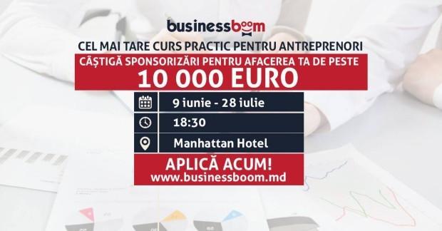 Înscrie-te la un curs de instruire în afaceri și poți obține un grant de 10.000 de euro