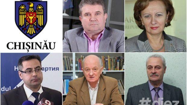 Ordinea în buletinele de vot a candidaților la funcția de Primar al Chișinăului