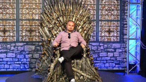 (foto) Un moldovean a urcat pe Tronul de Fier din Game of Thrones