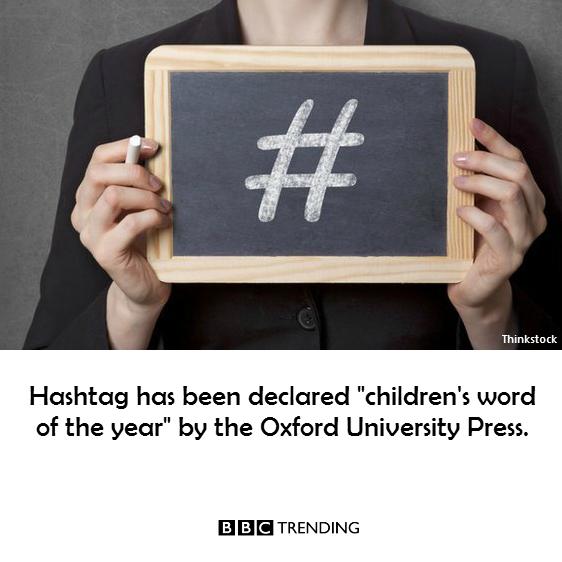 Cuvântul anului pentru copii în Marea Britanie PC: Facebook/ BBC Trending