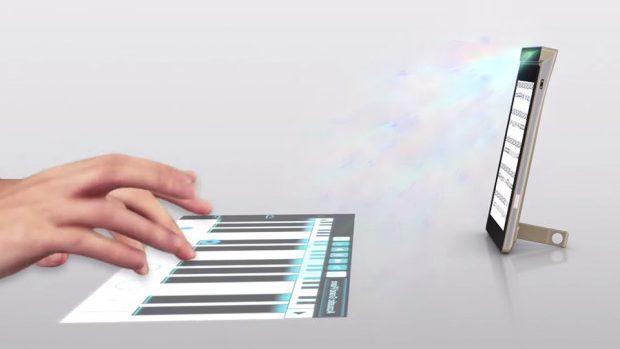 Lenovo plănuiește să lanseze un smartphone cu un proiector touch încorporat