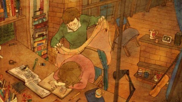 (foto) Cum arată dragostea adevărată în viziunea unui artist coreean