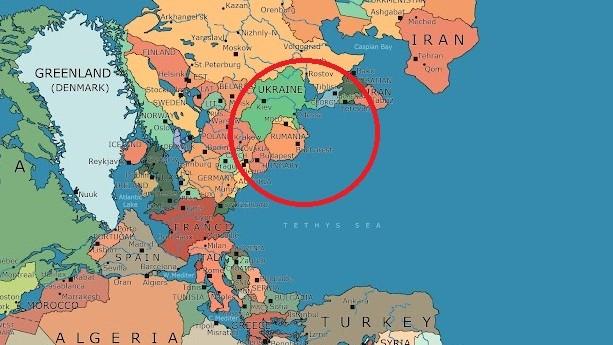 (foto) Unde s-ar situa țările și continentele de azi pe Supercontinentul Pangeea