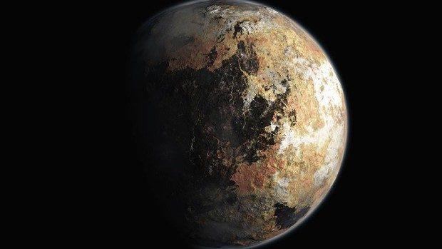 NASA a făcut publice imaginile color ale lui Pluto și ale sateliților săi