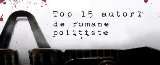 Top 15 scriitori de romane polițiste