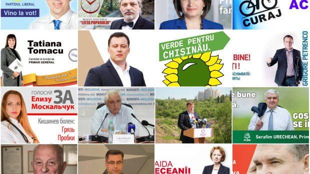 Alegeri Locale: Sloganele electorale ale tuturor candidaților la postul de primar