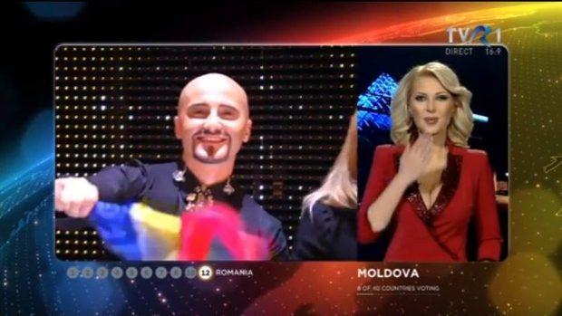 (foto, video) Cum a votat Moldova în finala Eurovision 2015