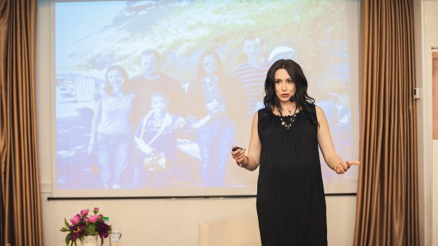 (foto) Nata Albot a participat la o Sesiune de Confesiuni marca Women's Summit Moldova