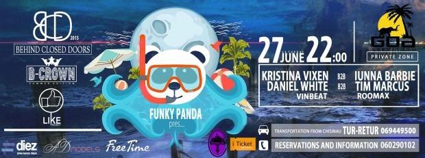 Cea mai tare petrecere a verii – Behind Closed Doors – se dă în acest weekend la GOA Territory