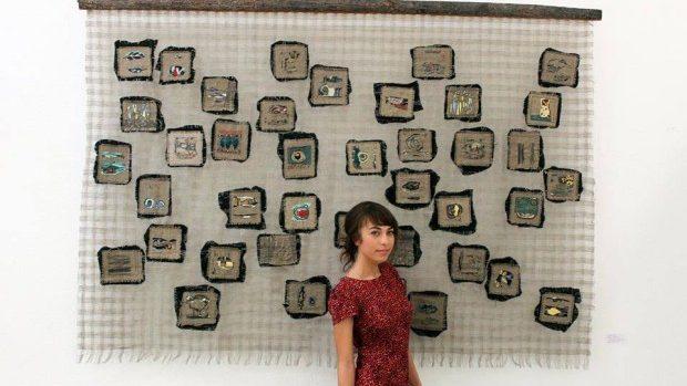 """(foto) Tânăra artistă Daria Vîlegjanina despre lucrarea de licență """"Ritmuri"""" la AMTAP"""