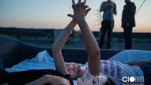 """(foto, video) Augustina Șiman filmează un nou video pentru solilocviul """"Șapte"""""""