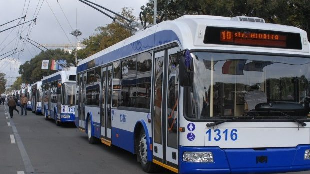 Începând cu 1 iunie, pe străzile capitalei vor circula mai puține troleibuze