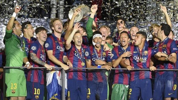 (foto, video) Barcelona a câștigat UEFA Champions League 2014/15