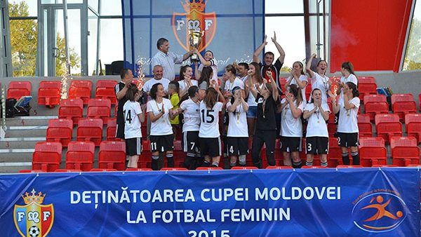 Cupa Moldovei la fotbal feminin a fost câștigată de Universitatea Tiraspol